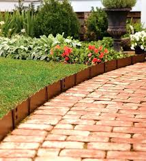 brick garden edging ideas image of garden borders and edging ideas brick border garden edging ideas