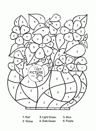 Small Picture Flowers Vase Coloring Pages Free Printable Coloring Coloring Pages