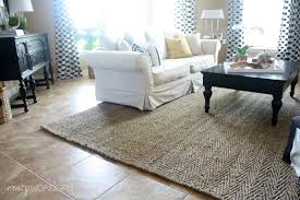 new herringbone jute rug
