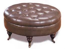 innovative ottoman coffee table round with round upholstered ottoman coffee table
