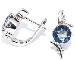 Купить <b>Silver WINGS Серьги</b> с топазами из серебра ...