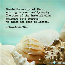 sea shell quotes best seashell quotes status shayari poetry thoughts