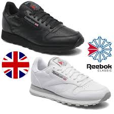 reebok shoes black and white. new reebok classic 2 retro trainers black white union jack leather shoes and