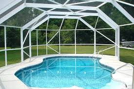 pool environment screen enclosure beautiful with shapes that accentuate the swimming r52