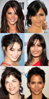 Hairstyle For Oval Shaped Faces the best and worst bangs for diamond faces beautyeditor 6150 by stevesalt.us