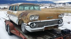 1958 CHEVY IMPALA BROOKWOOD WAGON: HOT RAT ROD KUSTOM GASSER LEAD ...