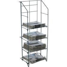 newspaper rack 1.  Rack NEWSPAPER WIRE RACK  4 SHELF TURQUOISE And Newspaper Rack 1 N
