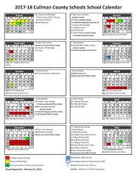 How To Make A School Calendar Cullman County Schools 2017 2018 Calendar Cullmantimes Com