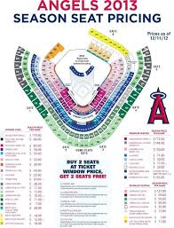 Angel Tickets Seating Chart 16 Surprising Angels Stadium Seating Chart With Rows
