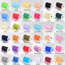Color Charts Custom Wedding Garter