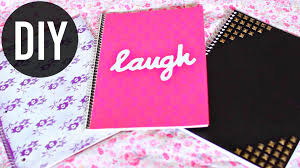 diy notebooks for back to school easy diy school supplies jenerationdiy
