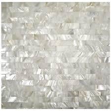 mother of pearl tile fresh water shell tiles seamless subway wall tiles kitchen backsplash natural seashell