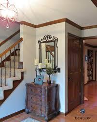 Best Paint Color For Dark Wood Trim, Oak Floor. Kylie M Interiors E