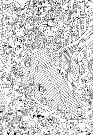 Small Picture Doodle Coloring pages for adults JustColor