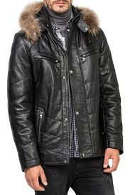 <b>Кожаная куртка JIMMY SANDERS</b> арт 18F_CTM22007_BLACK ...