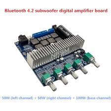 DC12V 24V 2*50W+100W New <b>TPA3116D2</b> Subwoofer Amplifier ...