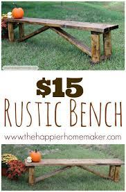 best 25 diy bench ideas on benches wood regarding outdoor plans 19