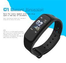<b>Beaulyn</b> C1 Plus Smart Wristband Bracelet Step Counter <b>Fitness</b> ...