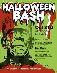 Halloween Costume Party Flyer Templates By Musthavemenus