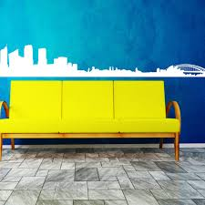 large sydney city wall stickers wall decals decal home decor in