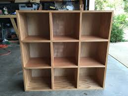 wooden bookcase furniture storage shelves shelving unit. Picture Of Finishing Wooden Bookcase Furniture Storage Shelves Shelving Unit