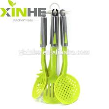 Colorful Silicone Kitchen Utensil Set 2 Colors Silicone Cooking