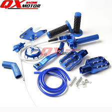 cnc aluminum dirt pit bike parts kit for chinese bse kayo oem ssr