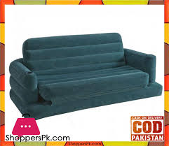 intex two person inflatable pull out sofa bed