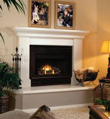 fascinating fireplace mantel kits design ideas in modern home living room model featuring wall picture frame