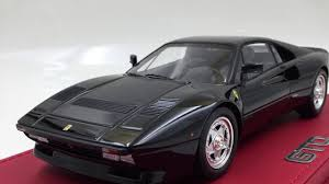 The first ferrari to carry the gto name since the vaunted 250 gto, it was clear that ferrari had high hopes and was proud of its newest sports racer, the 288 gto. Bbr Ferrari 288 Gto 1984 Resin Scale 1 18 Ferrari Black Red Stripe Limited 30pcs P18112blk Youtube
