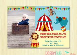 circus birthday invitations free