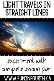 How Light Travels How Light Travels Interactive Notebook Lesson Science