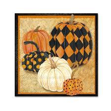 <b>Patterned</b> Pumpkins Paper Napkins - Beverage | Pumpkin <b>pattern</b> ...