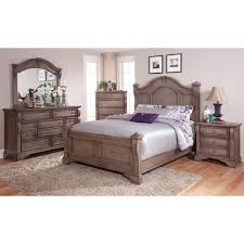 cassimore pearl silver king upholstered poster canopy bed pretty 4 poster king bedroom set with traditions 5 piece weathered grey poster bed set