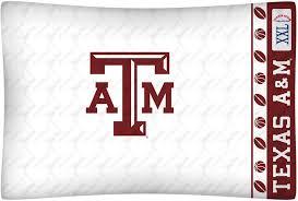 texas a m aggies micro fiber standard pillow case from kentex