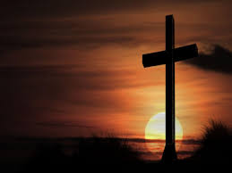 cross in sunset wallpaper christian wallpapers and backgrounds