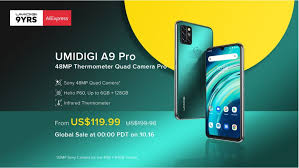 <b>UMIDIGI</b> launches <b>A9 Pro</b> budget smartphone with Body ...