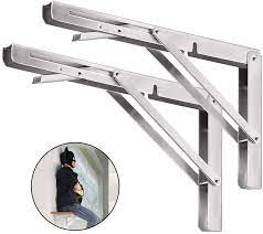folding shelf brackets 20 inch