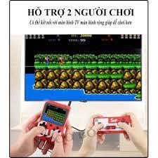 Máy Chơi Game Sup 400 Game In 1 Retro Kèm Tay Cầm Chơi Game 2 Người - Máy  chơi Game khác Nhãn hiệu OEM