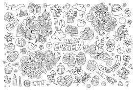 Small Picture Simple easter doodle by olga kostenko Easter Coloring pages