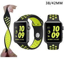 apple nike watch series 2. aliexpress.com : buy soft silicone sport band for apple watch series 2 replacement strap iwatch nike brand luxury watchs from +