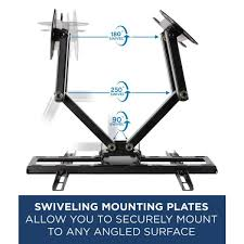 full motion corner tv wall mount for 55