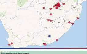 Güney Afrika Cumhuriyeti - Güney Afrika Cumhuriyeti Yılında Ağustos  şehrinde hava durumu 2020