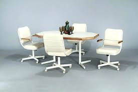 dining room chairs on casters fantastic dining room chairs with casters terrific dinette chairs casters dining