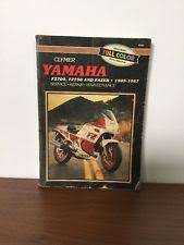 yamaha service manual clymer service shop repair manual for yamaha fz700 fz750 fazer 1985 1987