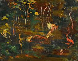 sir winston churchill the goldfish pool at chartwell 1962 estimate 50 000 80 000 from modern post war british art