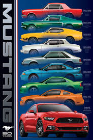 14 39 Ford Mustang 50th Anniversary 6 Generations