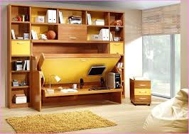 murphy bed desk modern diy combo