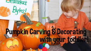 pumpkin carving decorating with your toddler how to