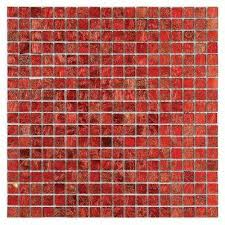 micro folia glass hawthorn red 11 3 4 in x 11 3